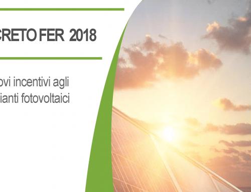 DECRETO FER | Nuovi incentivi agli impianti fotovoltaici